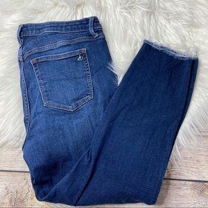 Sam Edelman Stiletto Crop Jeans 32